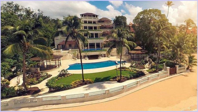 Biệt thự đẹp Palazzate, Barbados