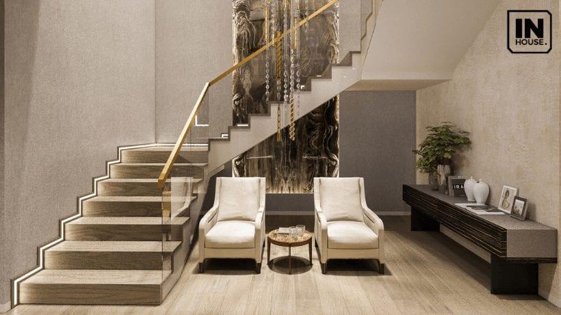 Cầu thang thiết kế theo phong cách hiện đại
