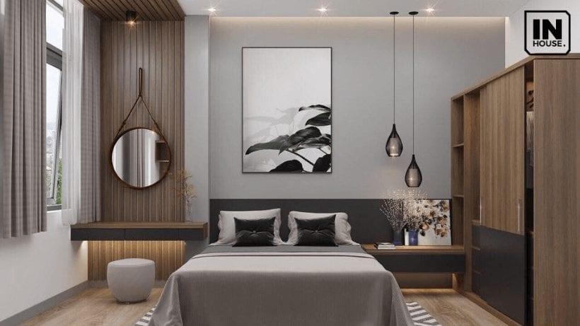Phòng ngủ thiết kế theo phong cách hiện đại