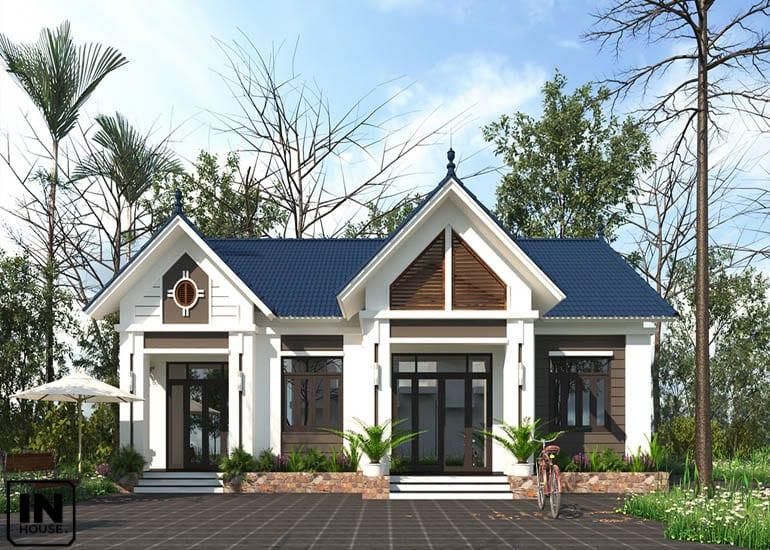 Biệt thự 1 tầng mái Thái