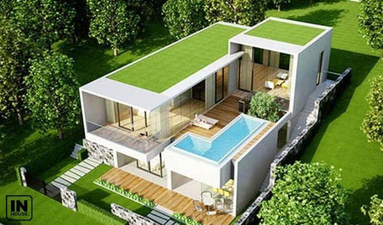 bể bơi trên sân thượng