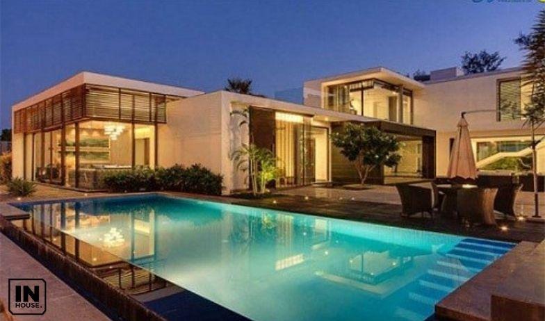 biệt thự hiện đại có bể bơi vô cực