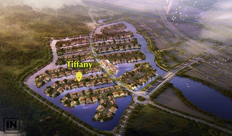 Ví trí biệt thự Tiffany