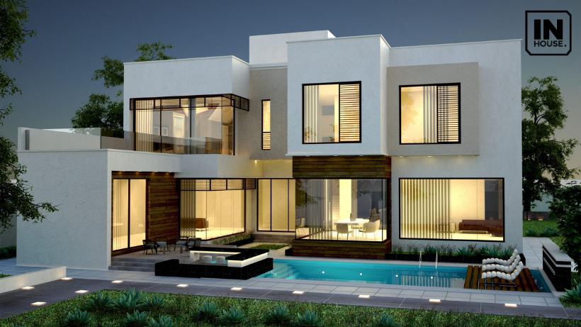 Biệt thự 2 tầng phù hợp với gia đình 4 đến 5 người