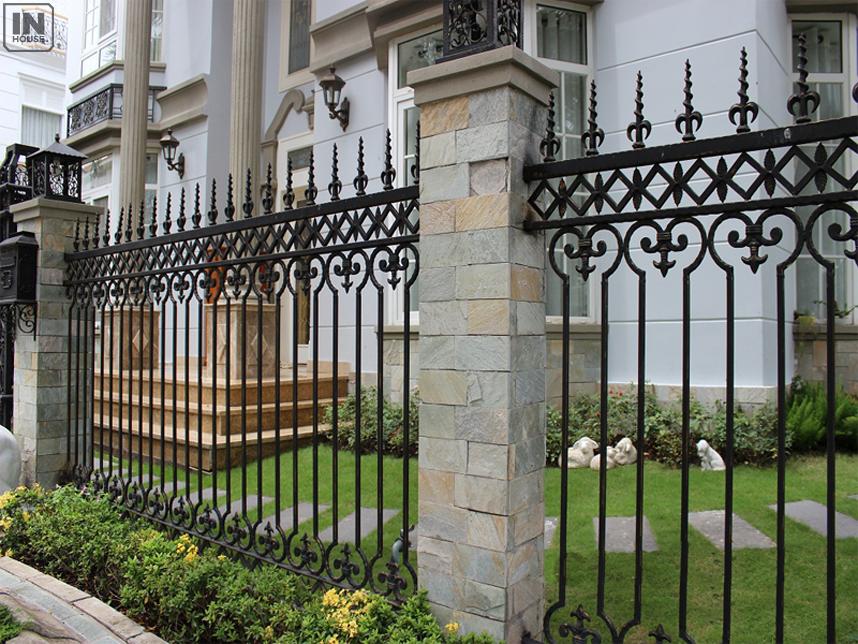 Hàng rào bằng sắt