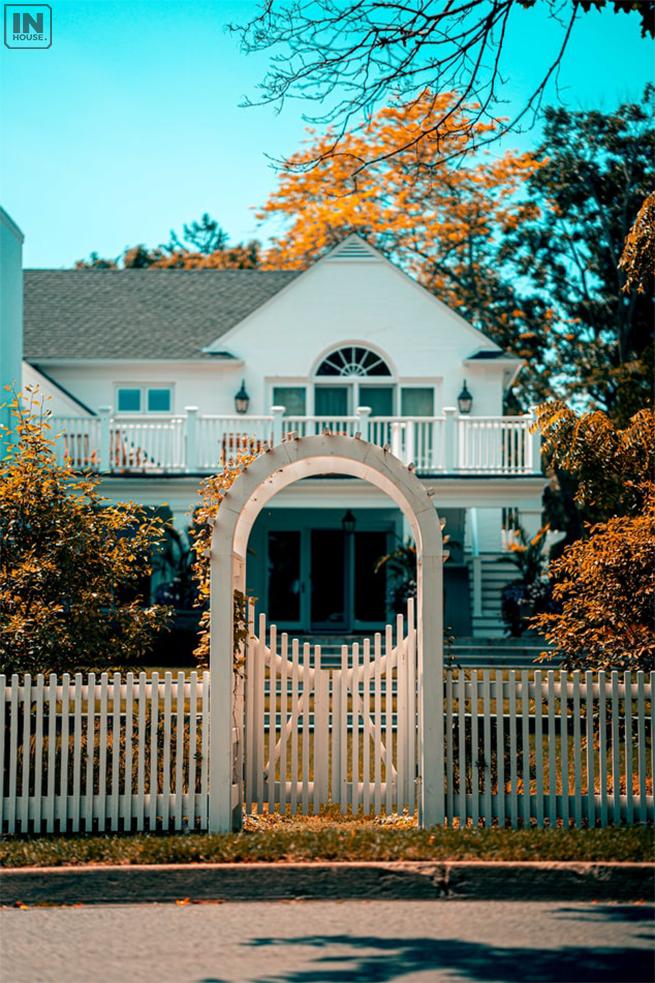 Hàng rào cho ngôi nhà là rất quan trọng