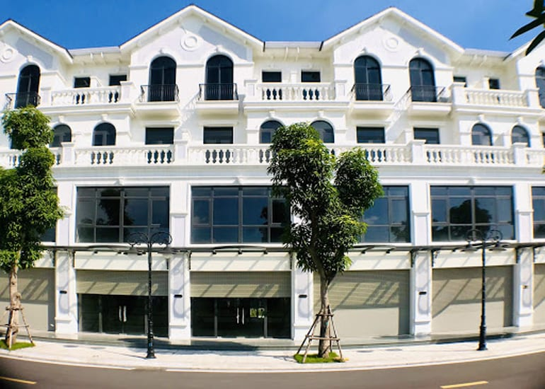Thiết kế Shophouse khu Sao Biển