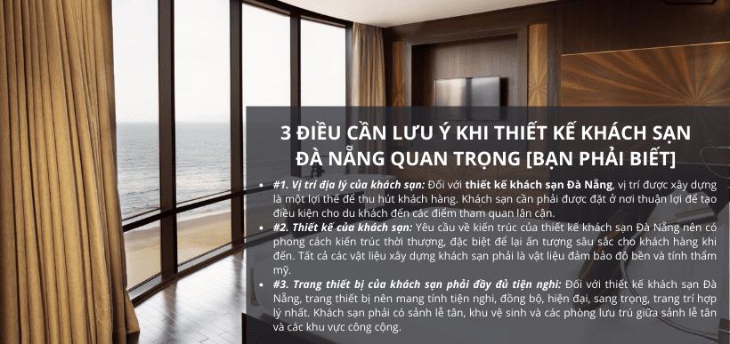 3 Lưu Ý Khi Thiết Kế Khách Sạn Tại Đà Nẵng Đẹp [Bạn Phải Biết]