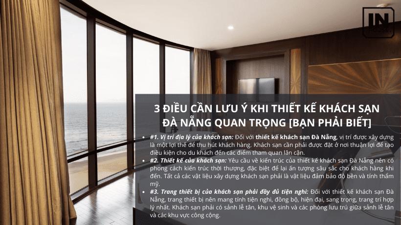 3 Lưu Ý Khi Thiết Kế Khách Sạn Đà Nẵng Đẹp [Bạn Phải Biết]