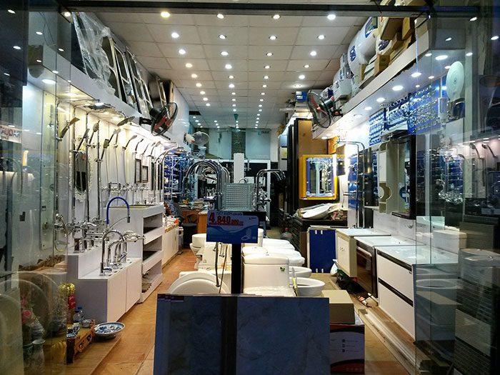 Thiết kế showroom vật liệu xây dựng (Ảnh: Internet)