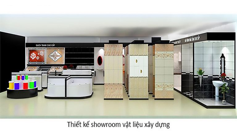Thiết kế showroom vât liệu xây dựng