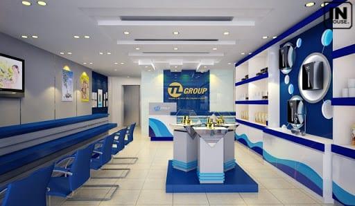 Thiết kế không gian showroom