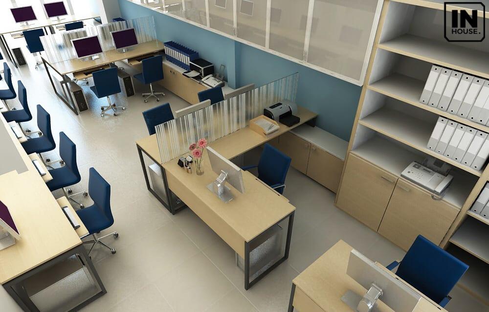 Phòng làm việc cho nhân viên