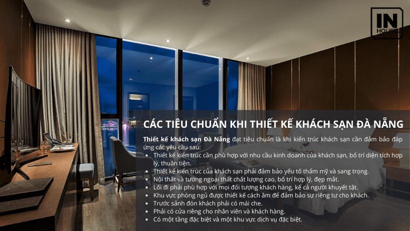 Các tiêu chuẩn trong thiết kế khách sạn