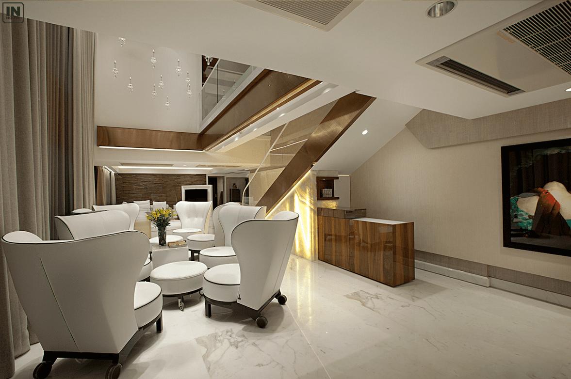 Phòng khách penthouse