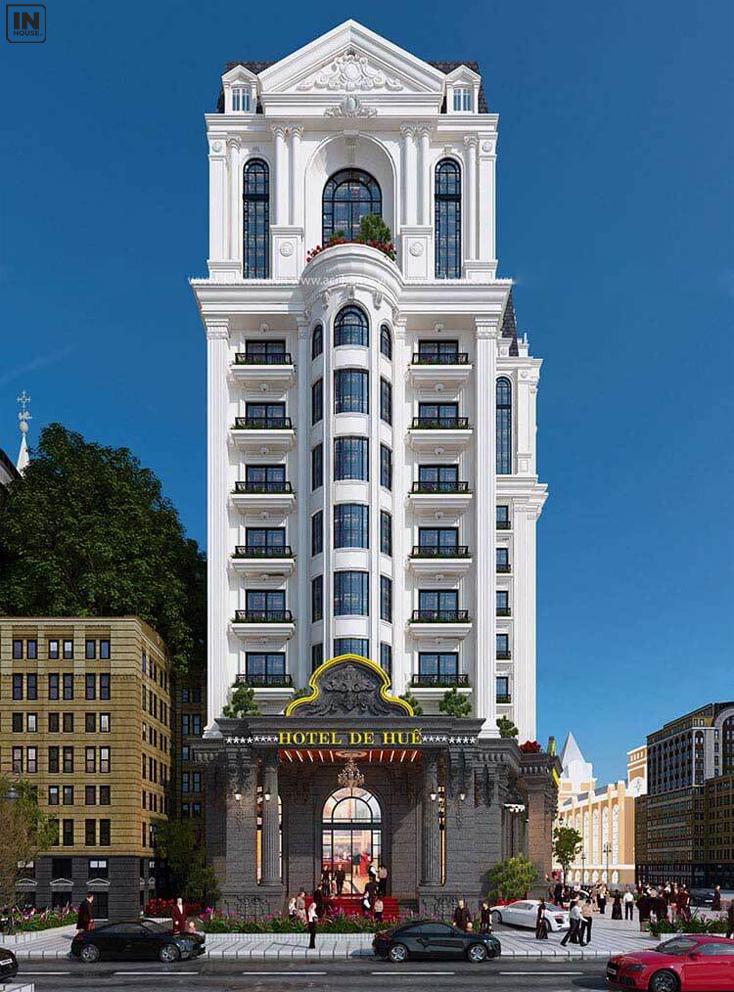 Khách sạn mặt tiền 10m