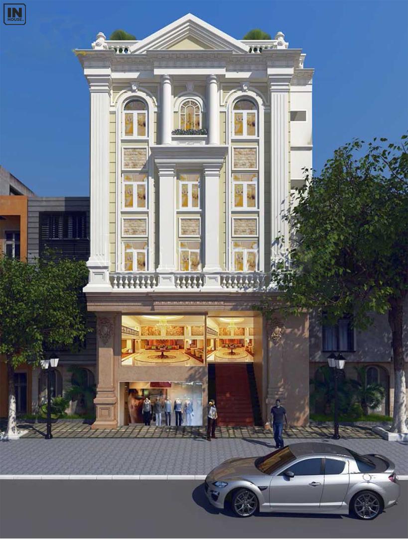 Chú ý đến thiết kế cảnh quan của khách sạn