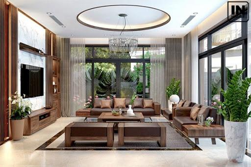 Chọn đồ nội thất phù hợp cho biệt thự không gian mở