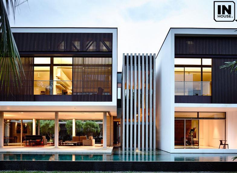 Thiết kế biệt thự không gian mở đầy đủ tiện nghi