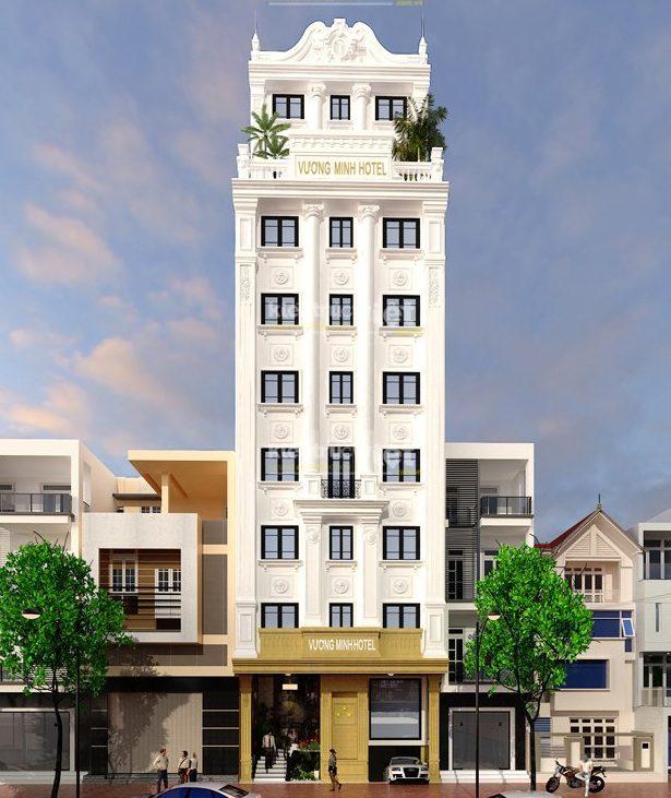 Thiết kế khách sạn mini 6×20 (Ảnh: Internet)