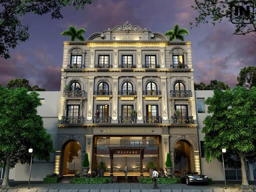 Khách sạn mini cổ điển