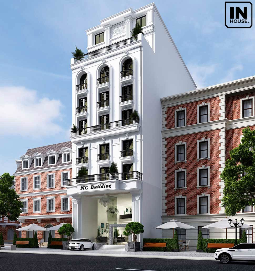 Thiết kế để khách sạn đón nhiều ánh sáng