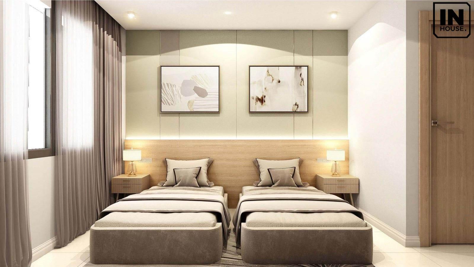 Thiết kế nội thất cho khách sạn mini