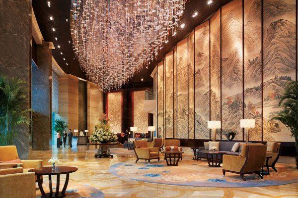 Thiết kế sảnh khách sạn đẹp mắt (Ảnh: Internet)