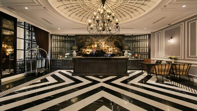 Thiết kế sảnh khách sạn
