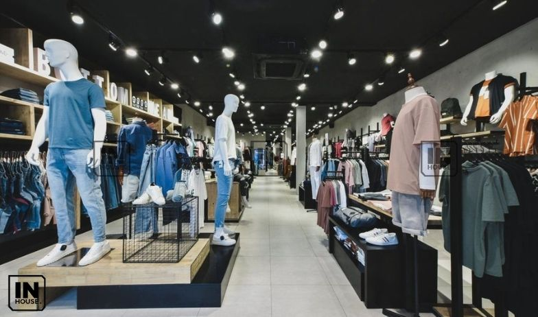 thiết kế showroom cửa hàng 1