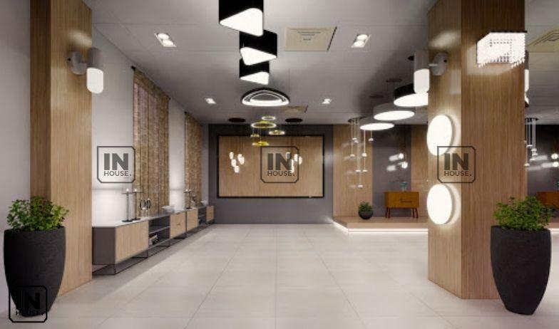 thiết kế showroom điện máy
