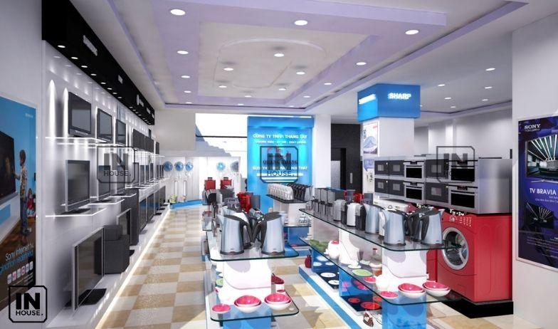 thiết kế showroom điện nước 1