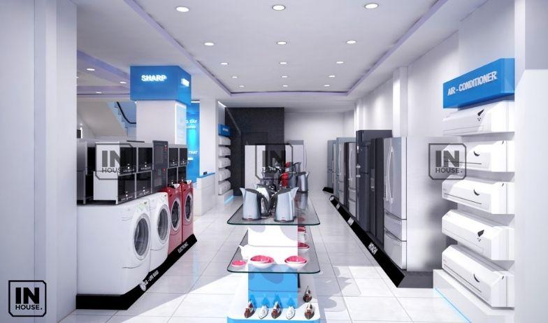 thiết kế showroom điện nước 2