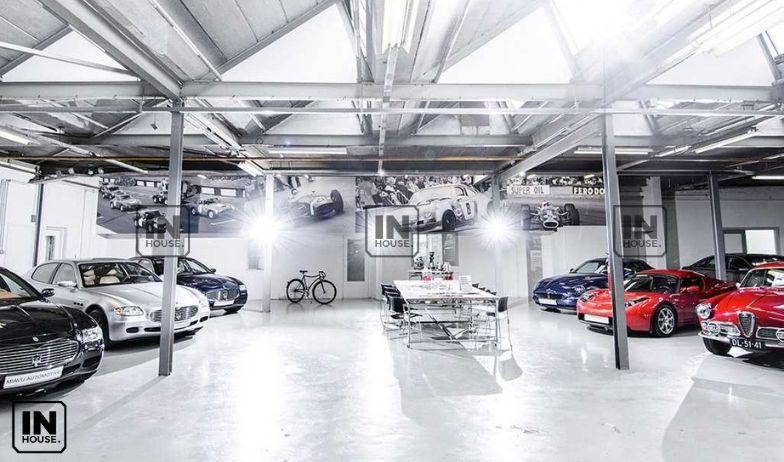 thiết kế showroom ô tô 1