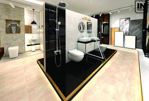 thiết kế Combo thiết bị vệ sinh và nhà tắm