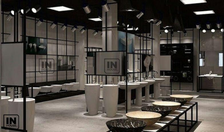 thiết kế showroom thiết bị vệ sinh 2