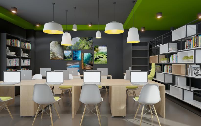 Đảm bảo tính thẩm mỹ trong thiết kế văn phòng (Ảnh: Internet)