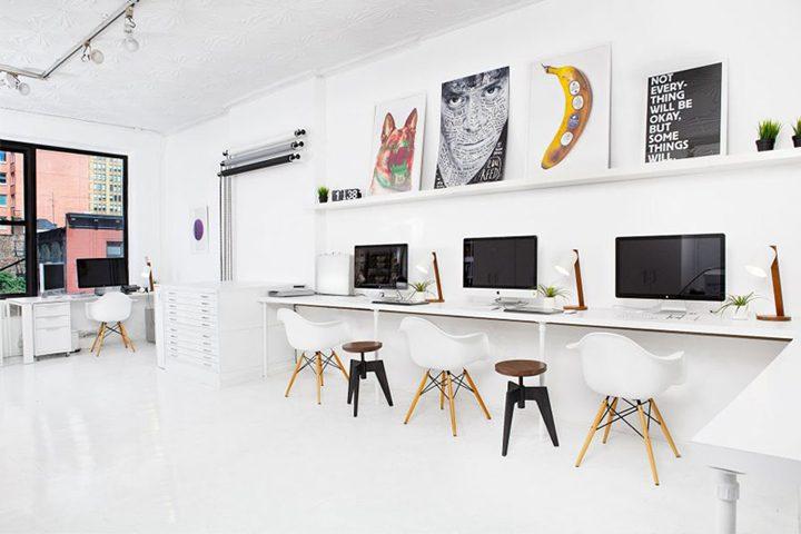 Thiết kế văn phòng phải chú trọng về không gian (Ảnh: Internet)