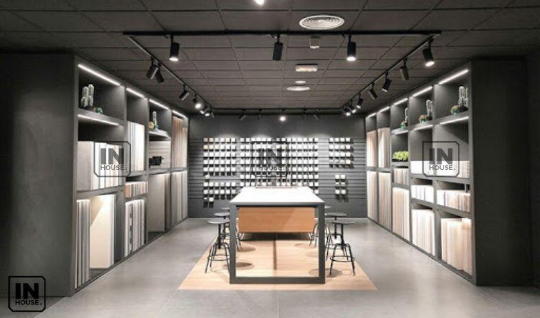thiết kế showroom vật liệu xây dựng 2