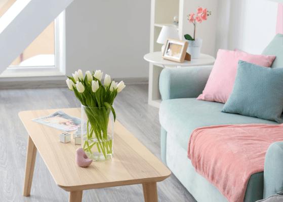 Màu Pastel trong thiết kế nội thất