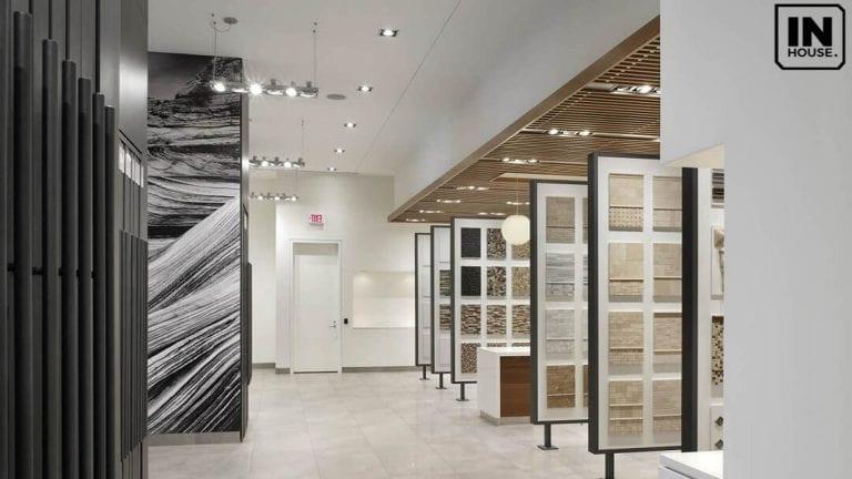 Mẫu thiết kế showroom gạch ốp lát