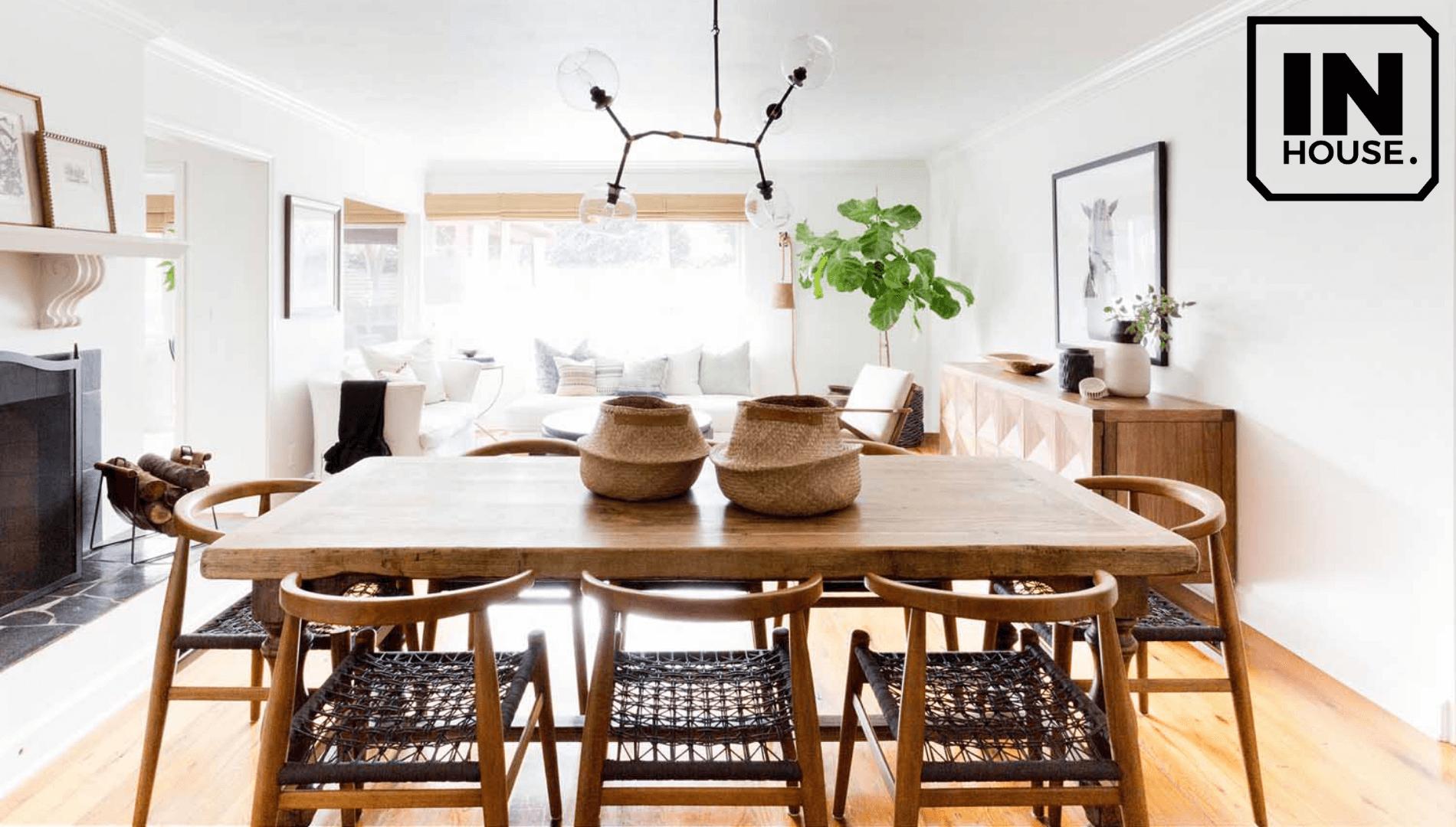 Phong cách hữu cơ sử dụng nhiều nội thất từ gỗ