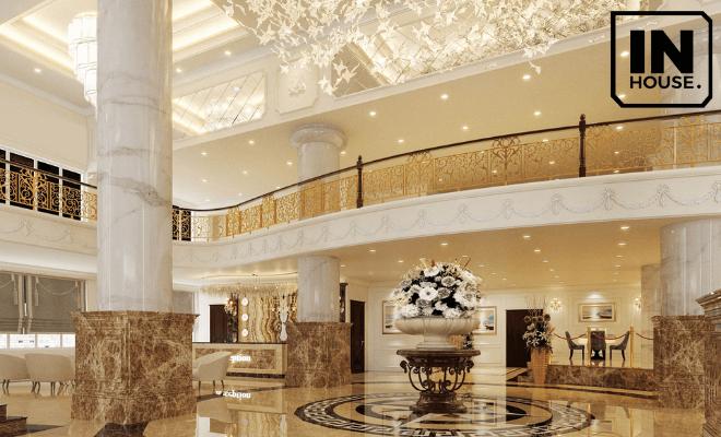 Phong cách nội thất khách sạn kiểu Pháp