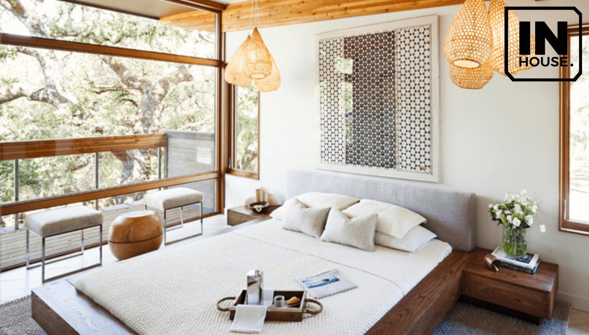 Phòng ngủ mang phong cách organic