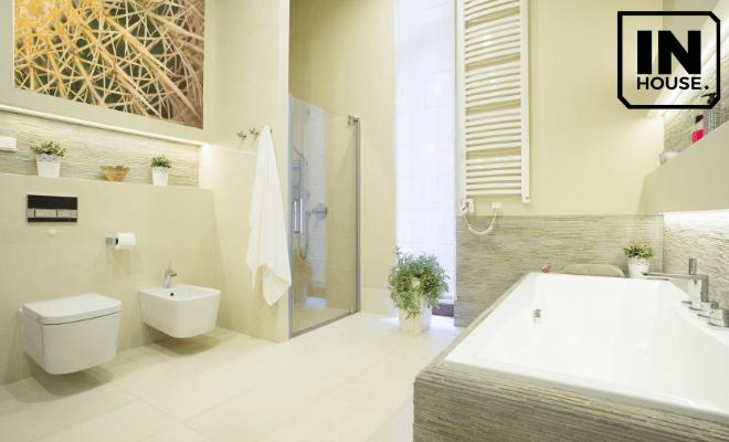 Phòng tắm tông pastel
