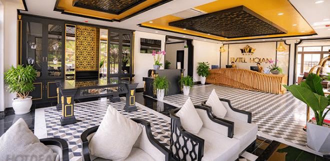 Sảnh khách sạn Fivitel Hội An (Ảnh: Internet)