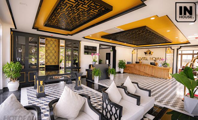Sảnh khách sạn Fivitel Hội An