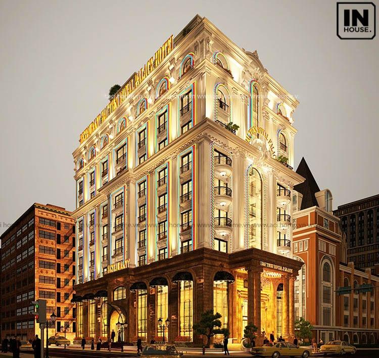 Khách sạn 11 tầng sang trọng