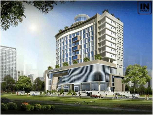 Thiết kế khách sạn 4 sao 11 tầng