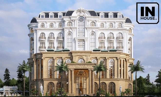 Thiết kế khách sạn mang phong cách tân cổ